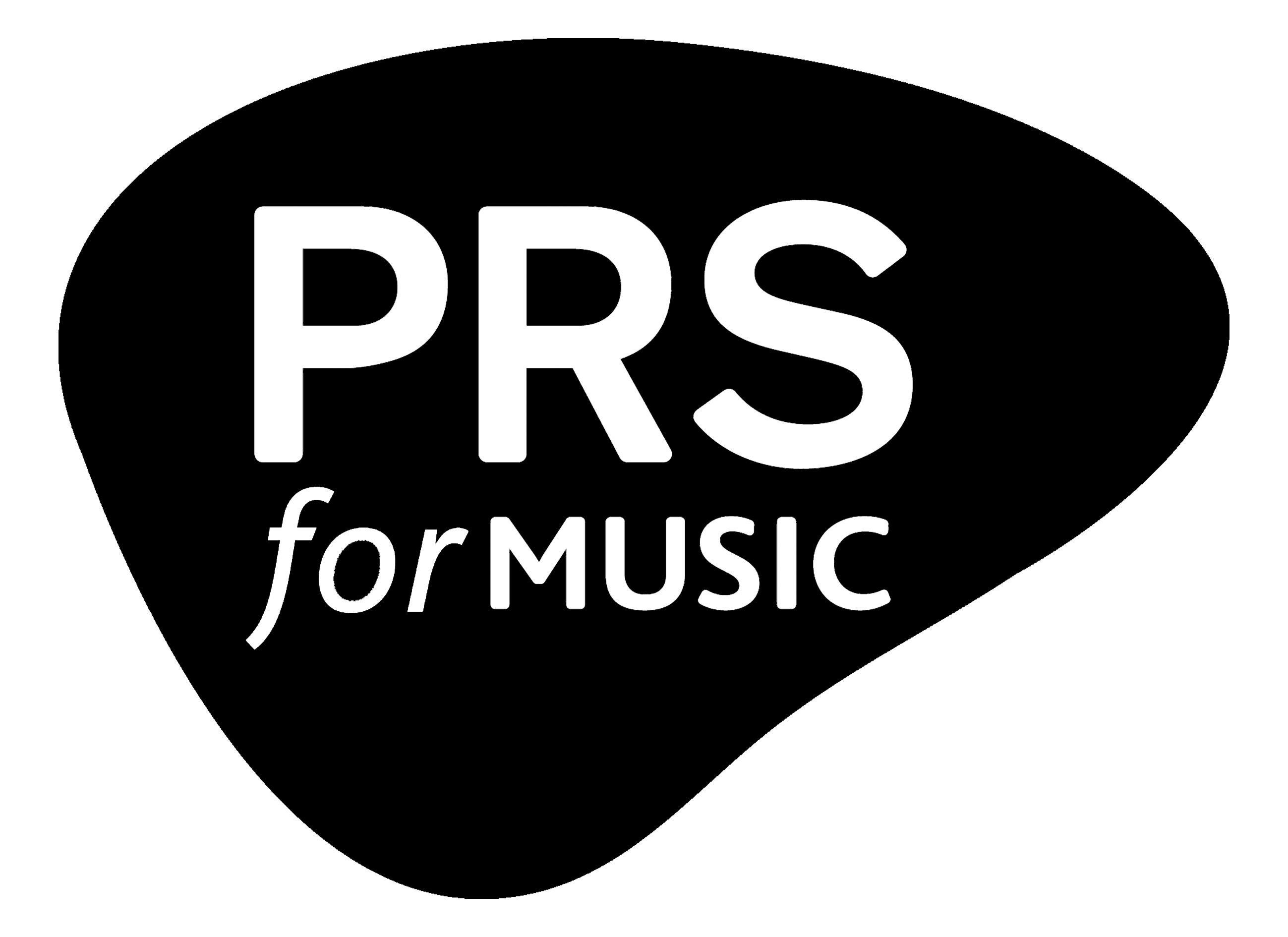 PRS for Music logo (black)