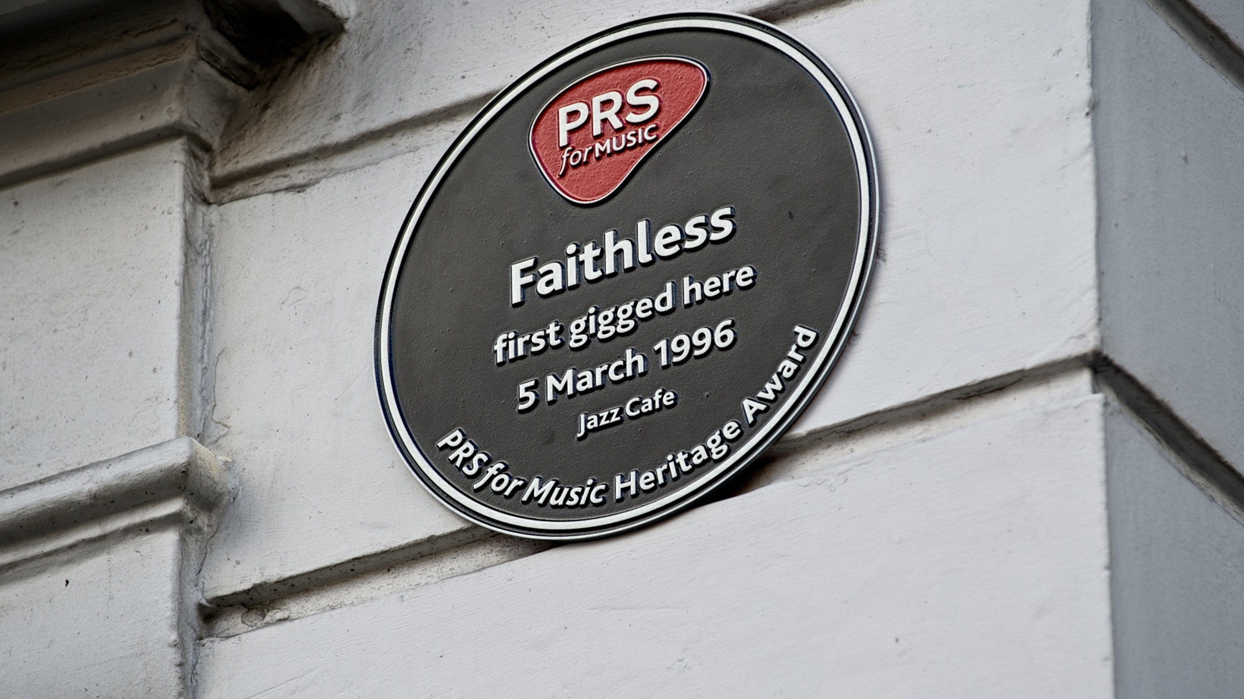 The Jazz Cafe Heritage Award for Faithless' first gig