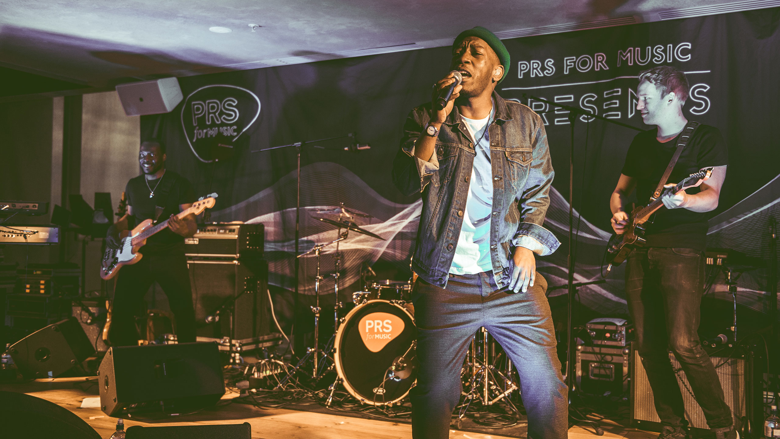 Tiggs Da Author performs with his live band at PRS Presents