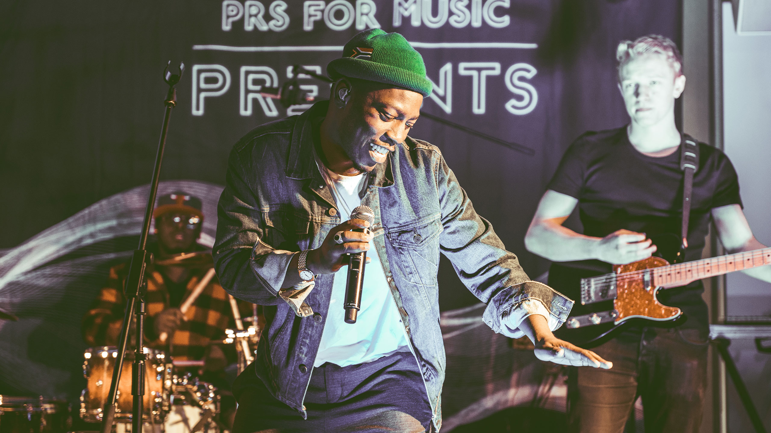 Tiggs Da Author dances during his performance at PRS Presents