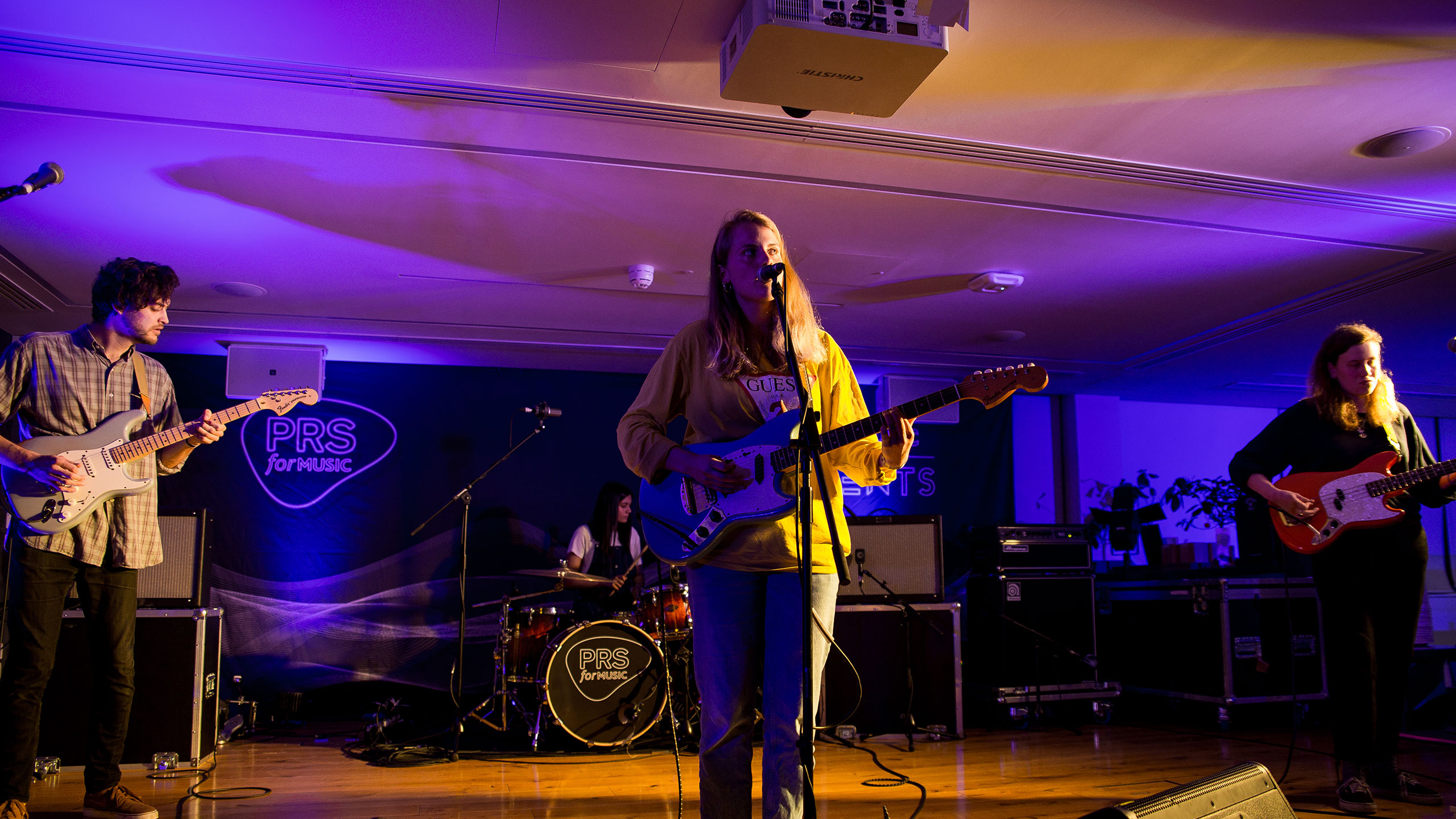 PRS for Music Presents featuring Dream Wife and Marika Hackman April 2017