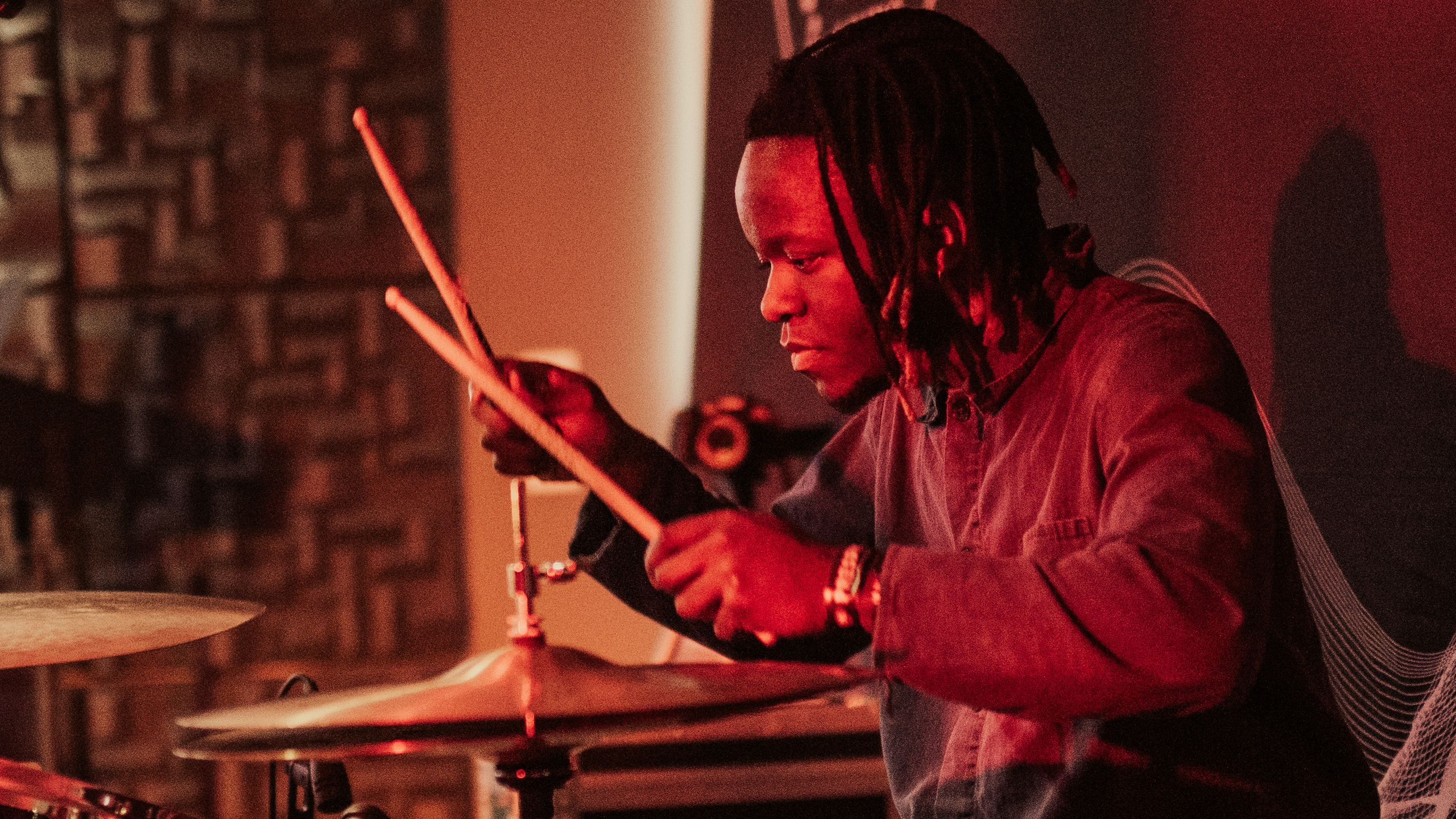 Black Midi drummer Morgan Simpson