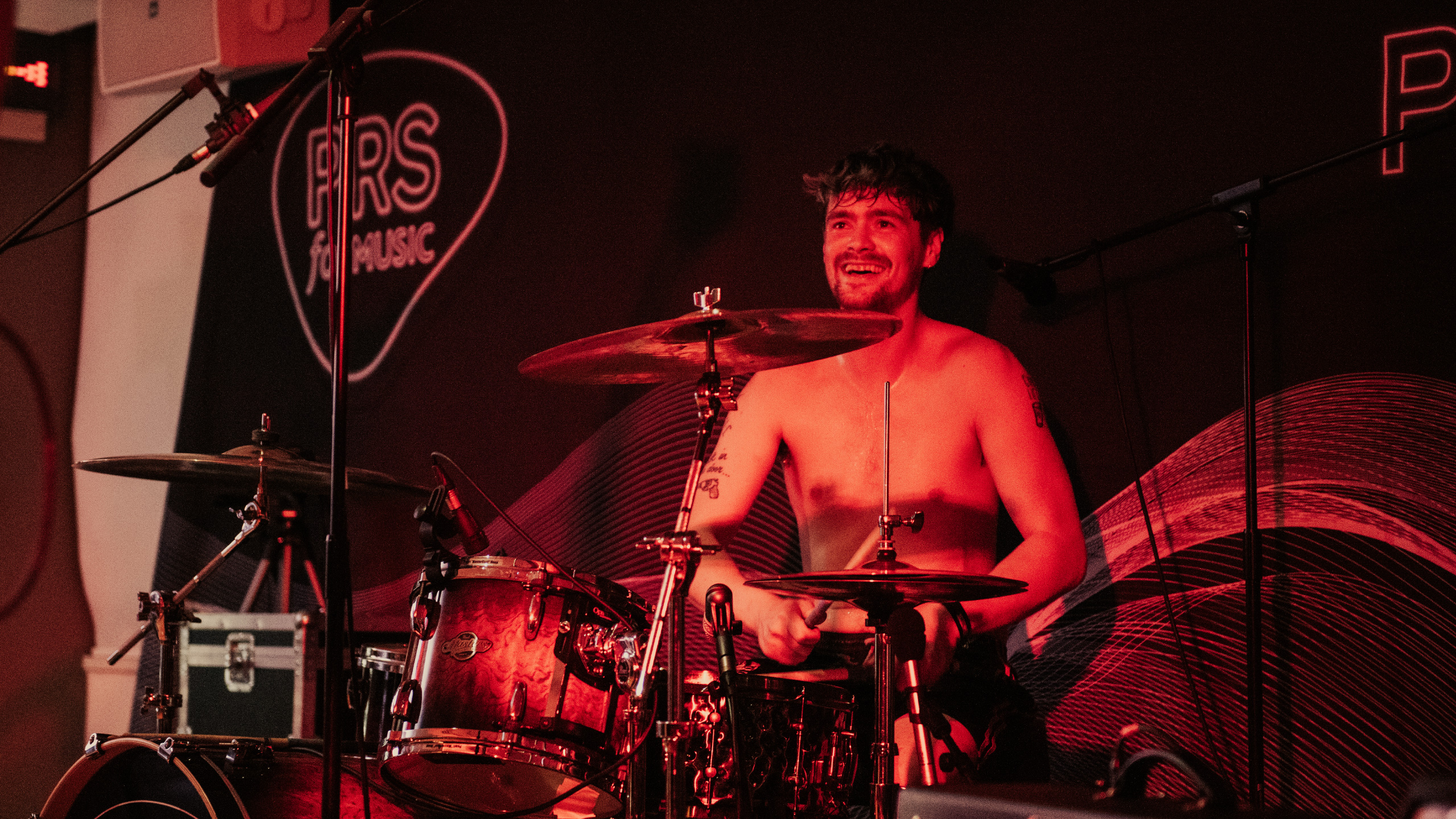 Heavy Lungs drummer George Garratt