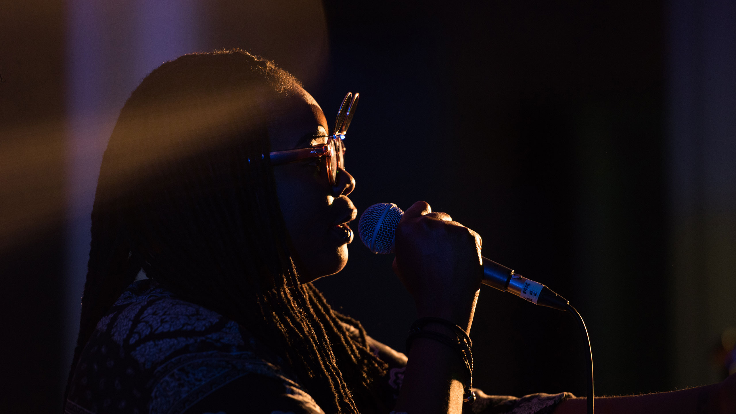 Speech Debelle sings at PRS for Music Presents