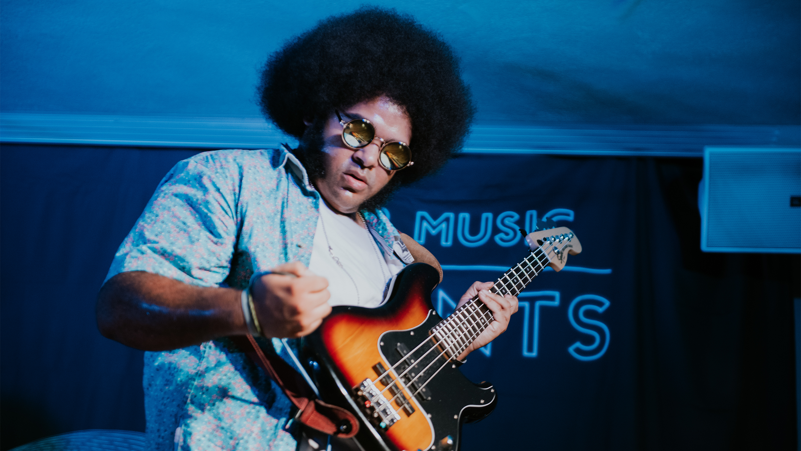 Dylan Cartlidge performs at PRS for Music Presents