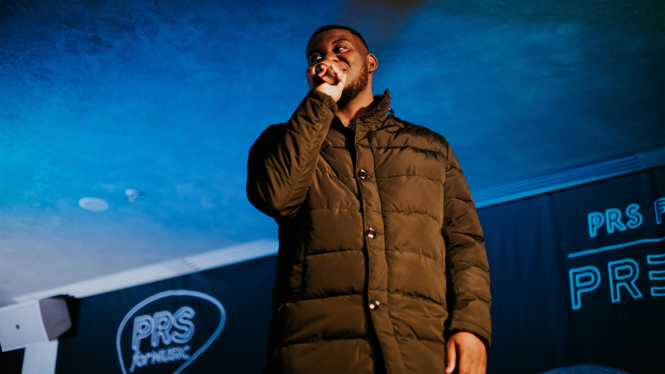 Novelist special guest performs at PRS presents November 2018