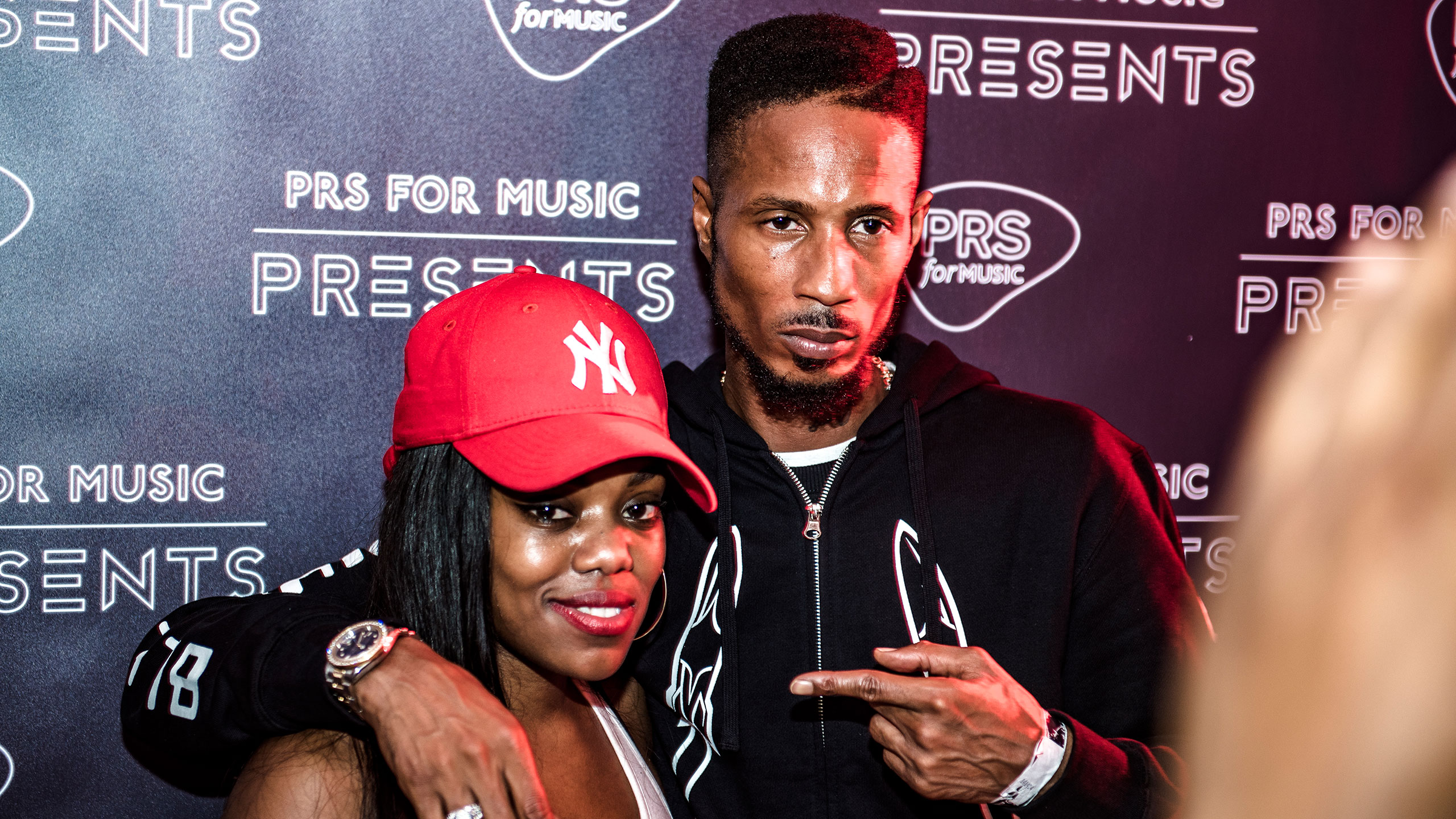 Lady Leshurr and D Double E at PRS for Music Presents