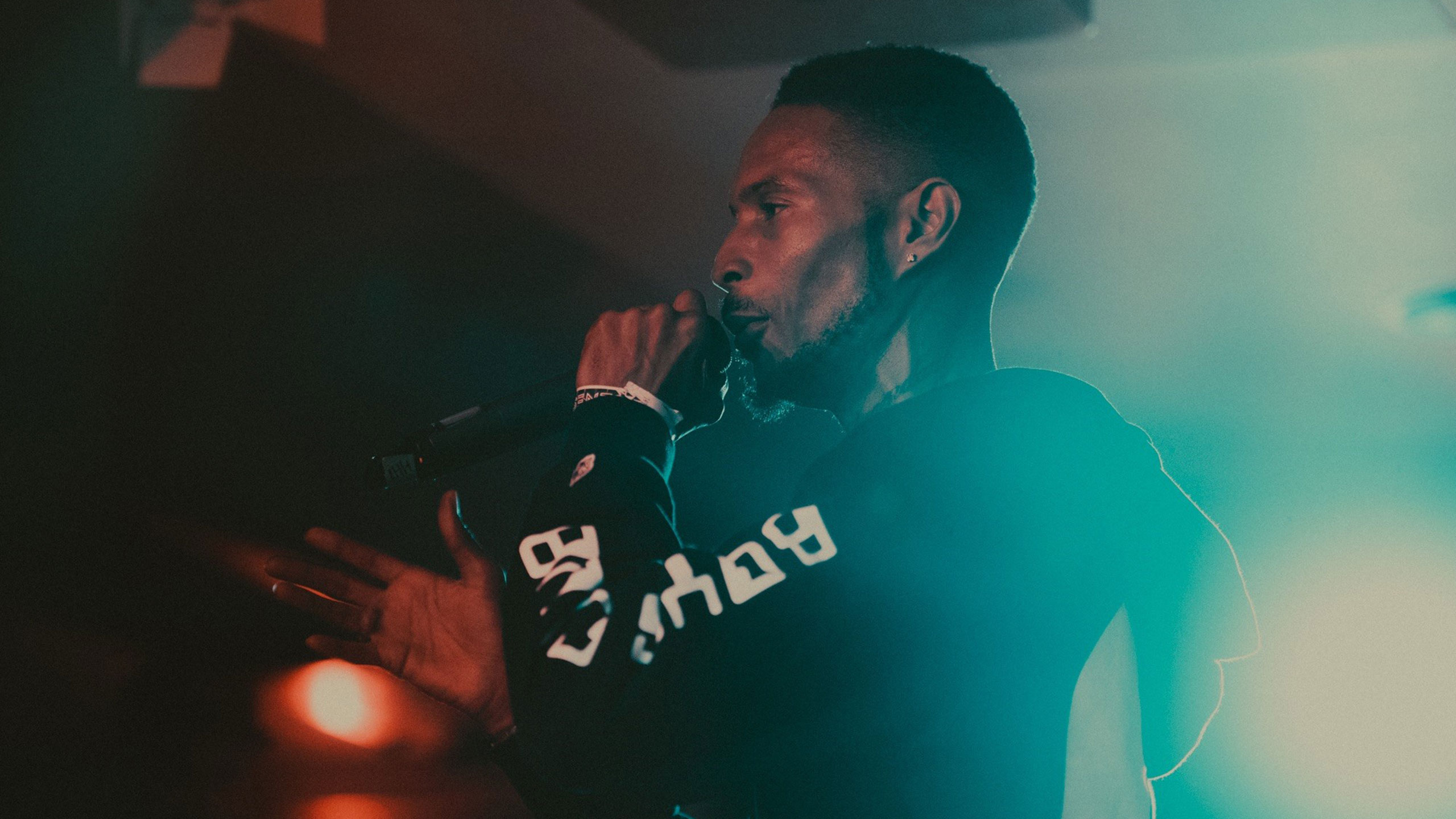 D Double E performing at PRS for Music Presents