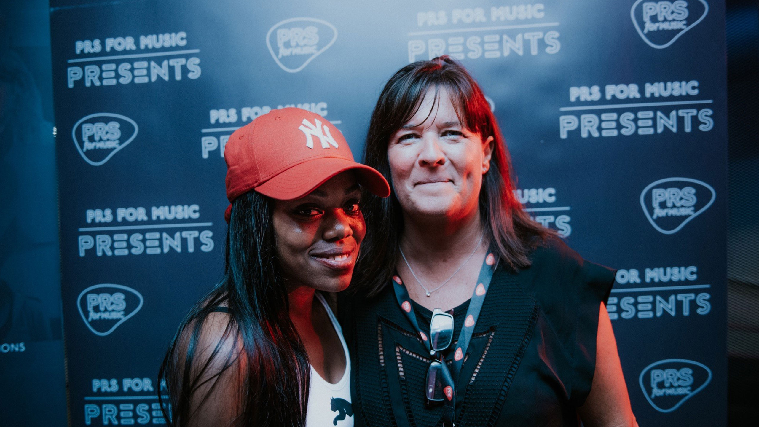 Lady Leshurr with Karen Buse at PRS for Music Presents
