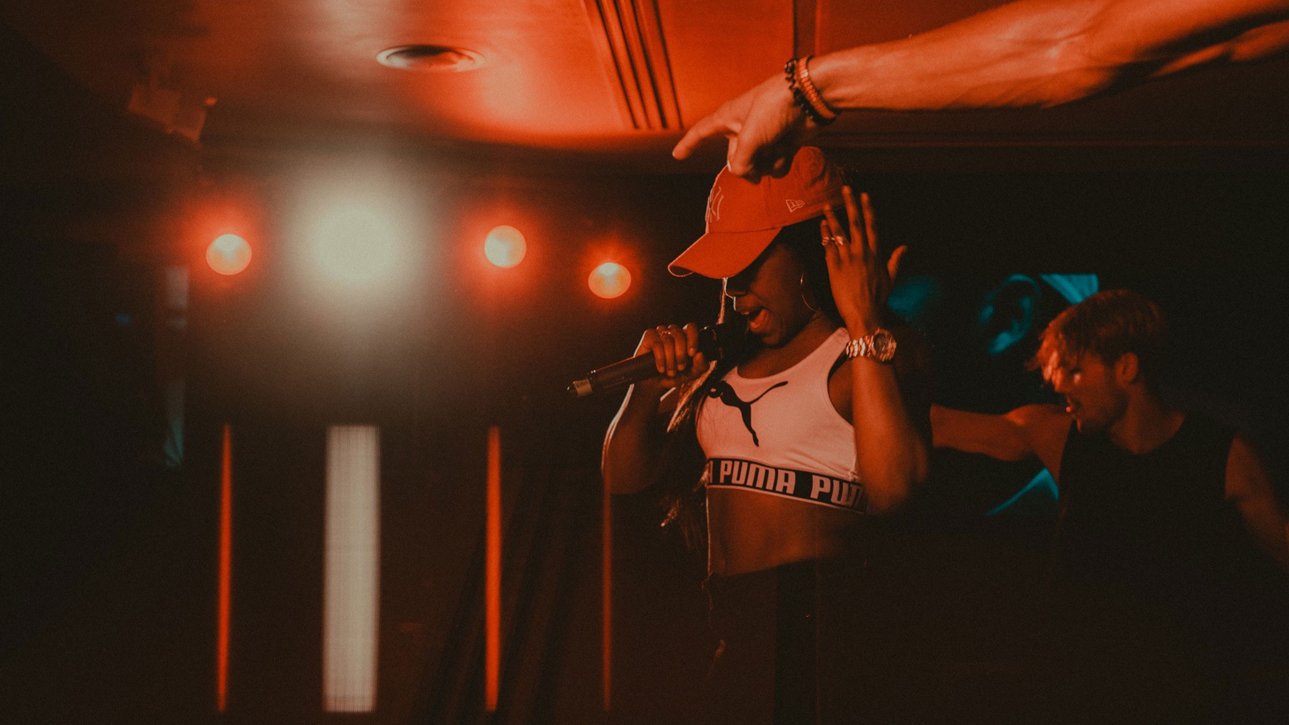 Lady Leshurr performing at PRS for Music Presents