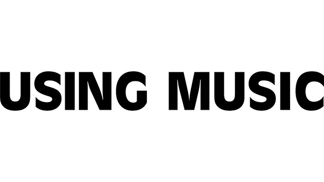 Using Music logo