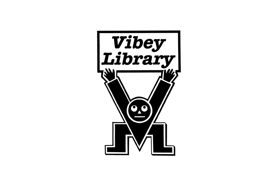 Vibey Library logo