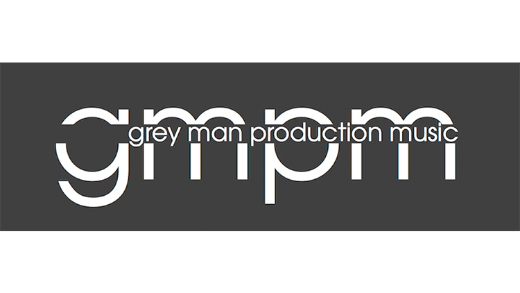 Grey Man Production Music logo