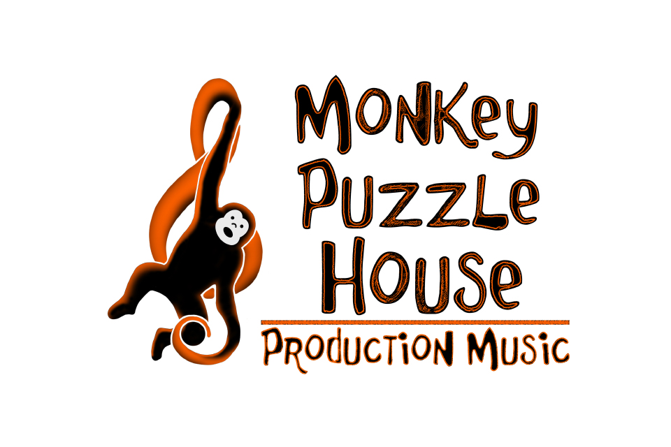 Monkey Puzzle House Production Music Logo