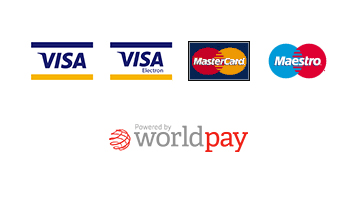 Powered by Worldpay logo lock up