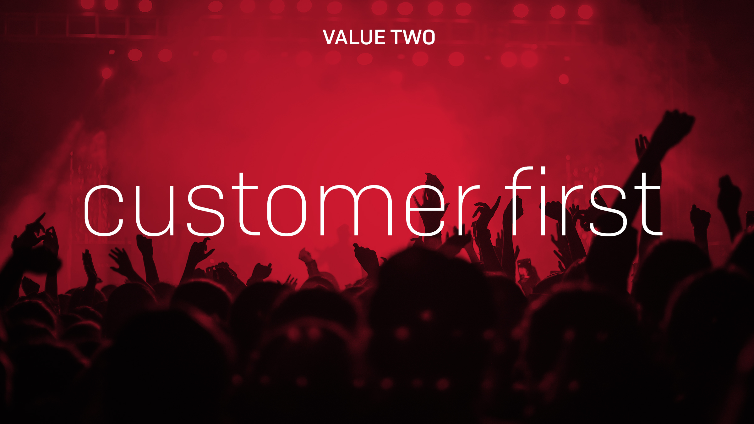 PRS Values Customer First