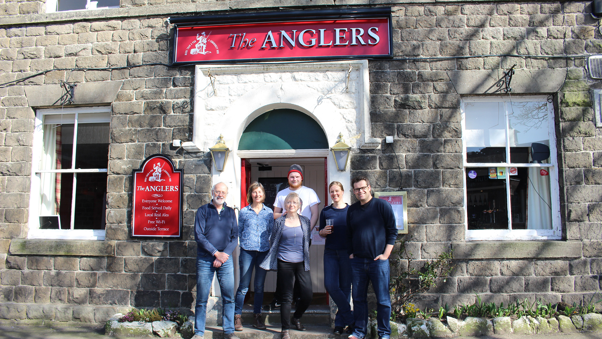 Music Makeover Pubs 2017 finalist - Anglers Rest