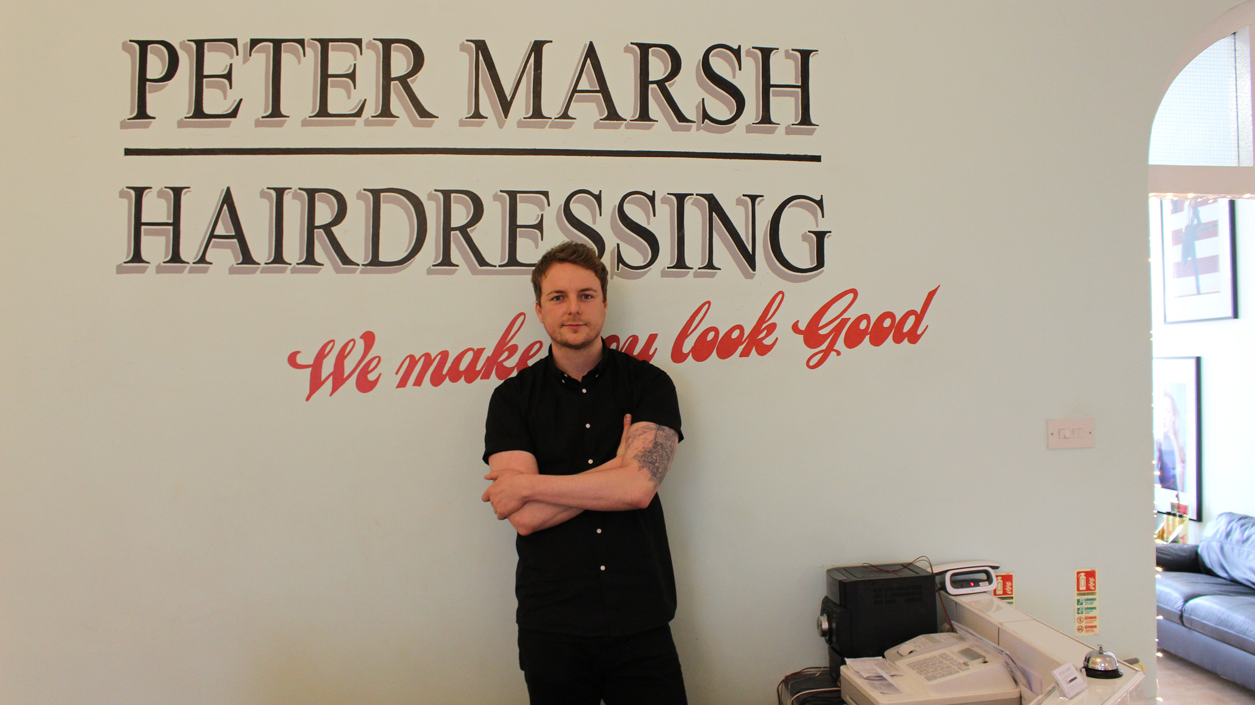 Music Makeover Salons 2017 finalist - Peter Marsh Hairdressing