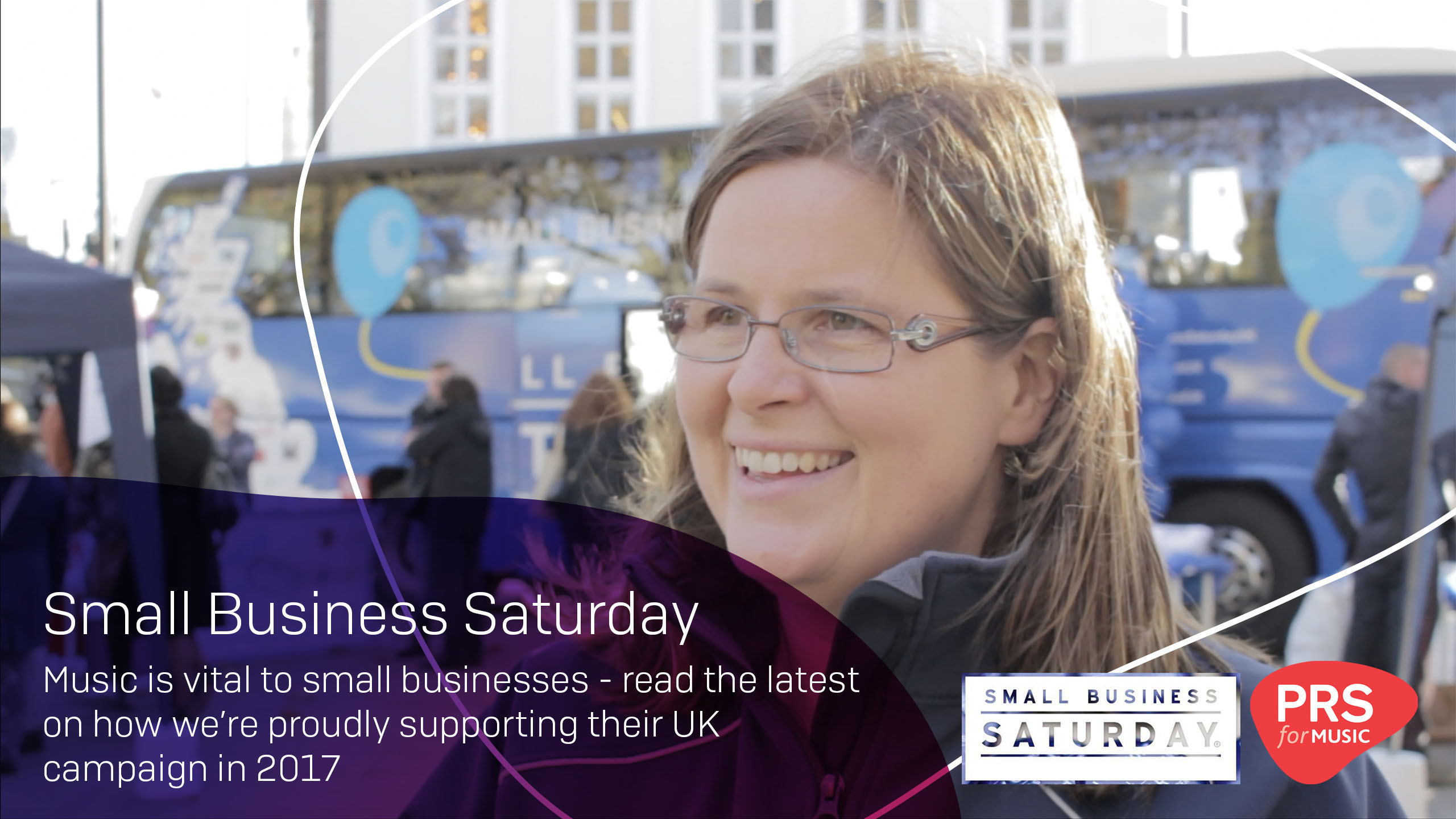 PRS for Music interviews Michelle Ovens MBE from Small Business Saturday