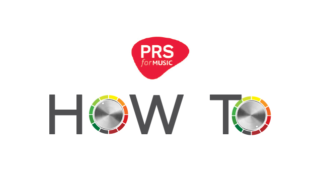 PRS for Music How To logo