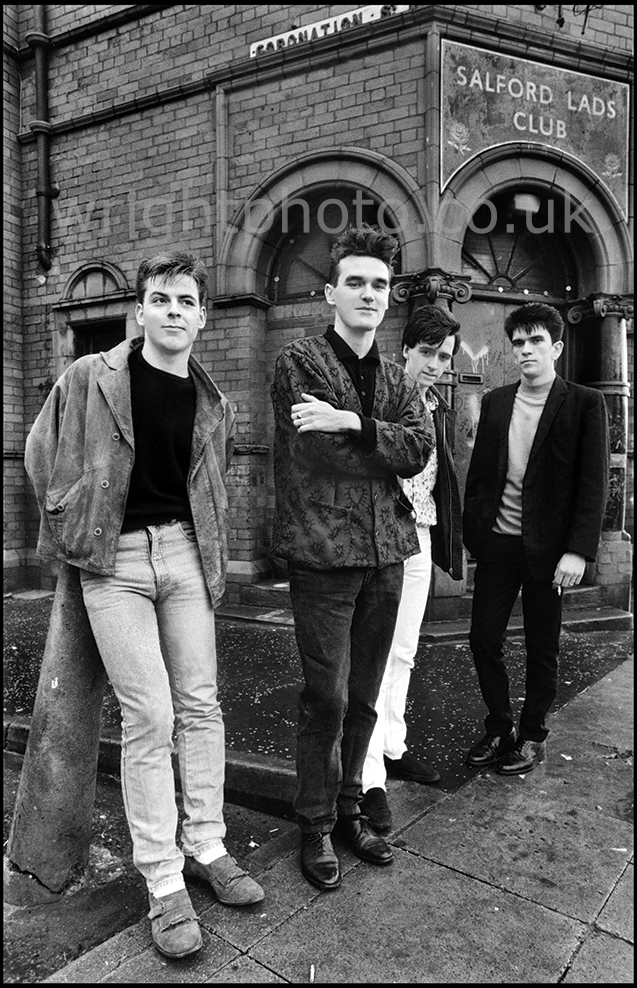 Smiths at Salford LAds Club 1985