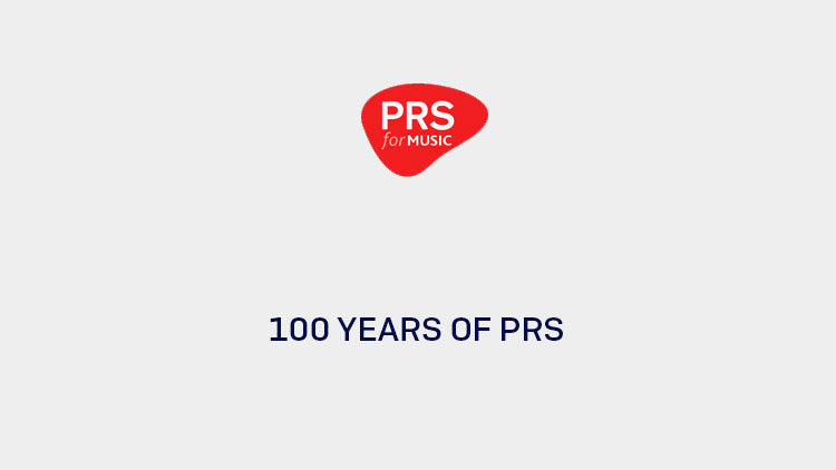 100 Years of PRS logo