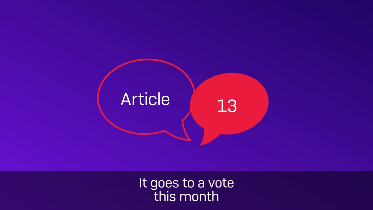 Article 13 video cover