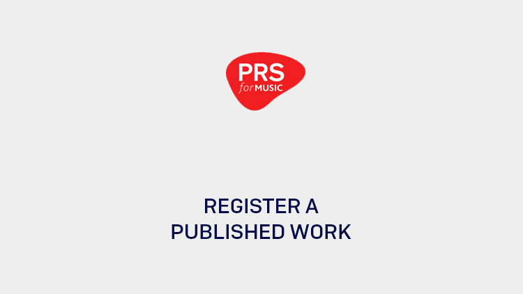 How to register a work