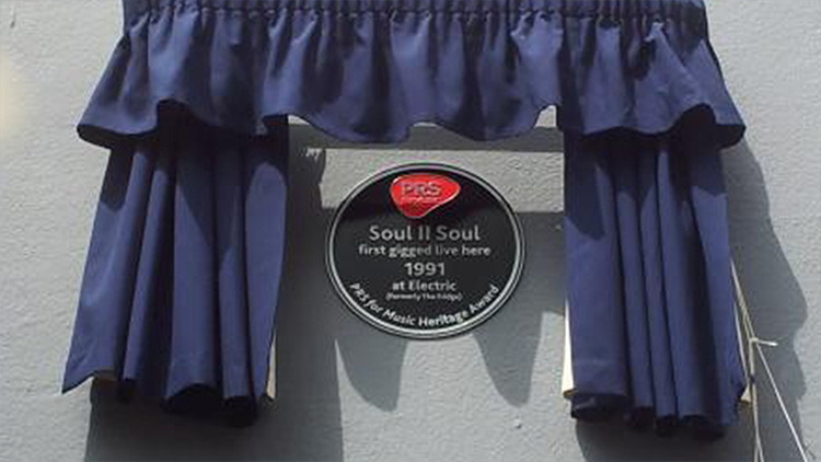 Soul II Soul heritage award at the Electric