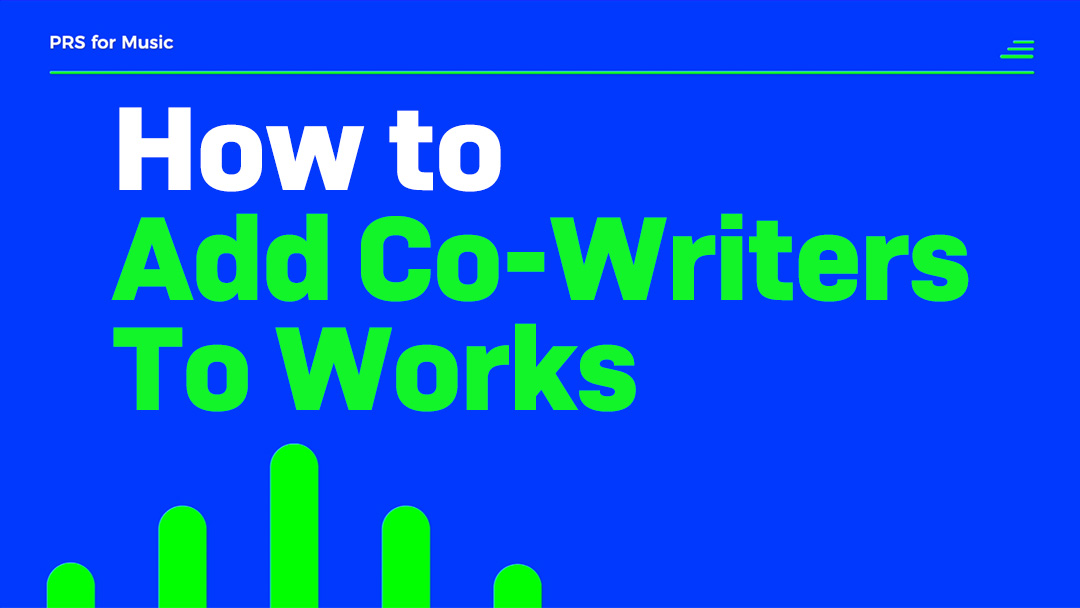 how to add co writers to works thumb