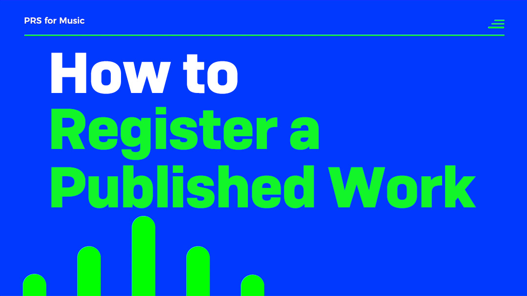 how to register a published work thumb