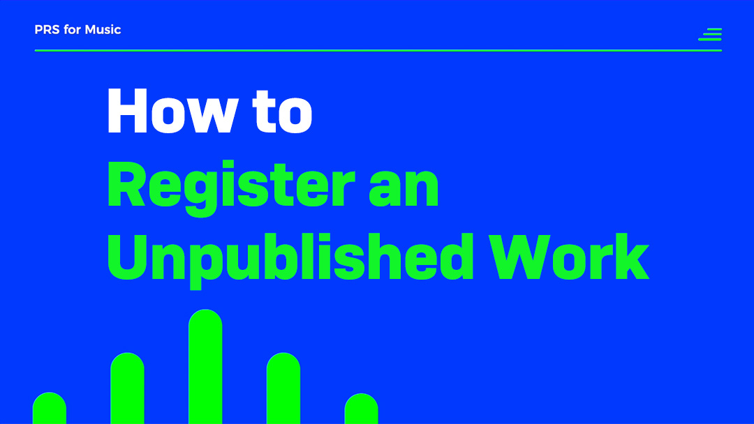 how to register an unpublished work thumb